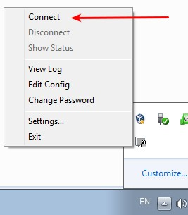 Connect to TorVPN with OpenVPN