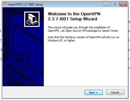 OpenVPN installation